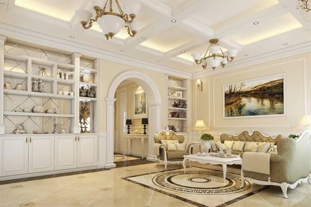 Tạo phong cách cổ điển cho nội thất khi chuyển nhà