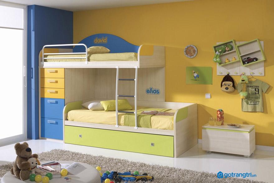 Giường 2 tầng cho bé cần đảm bảo gì?