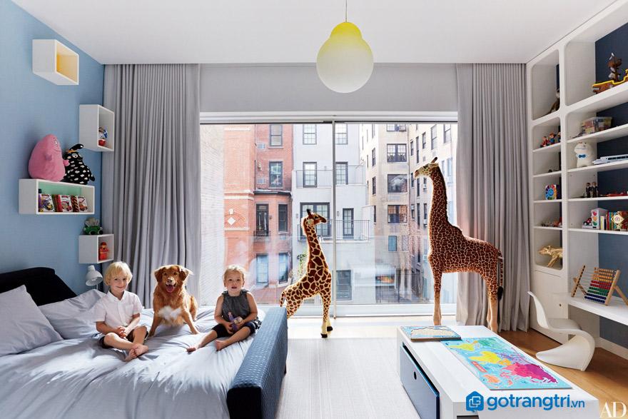 Hướng dẫn chọn giường cho bé trai