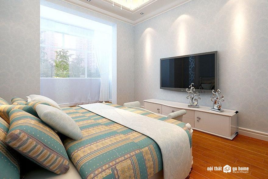 Nên chọn kệ tivi nào cho phòng ngủ?