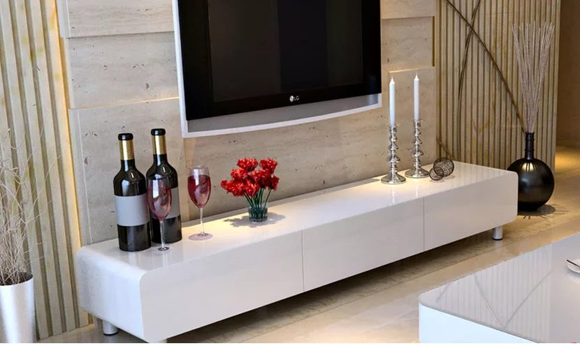 Kệ tivi phòng khách gỗ hiện đại