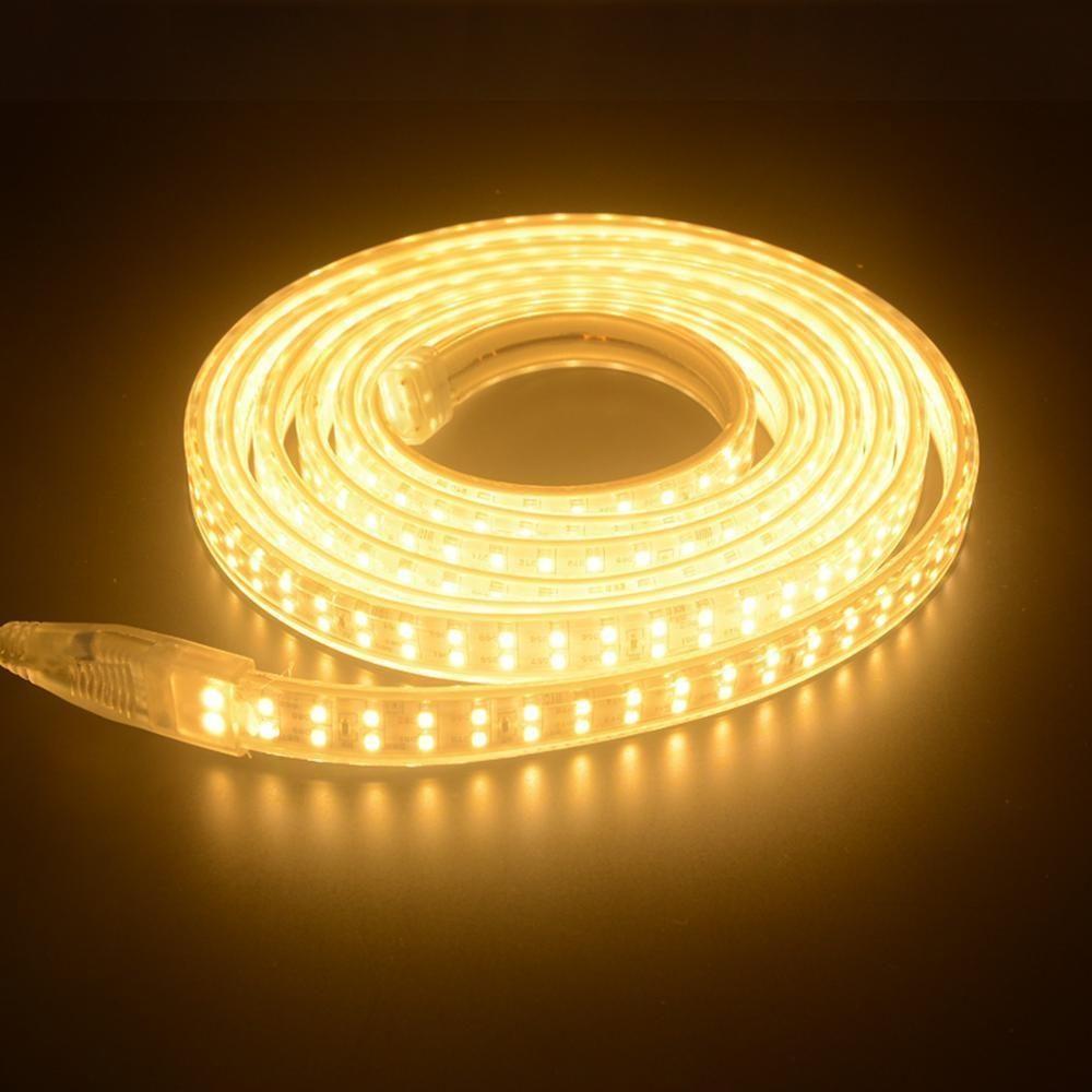 Đèn LED dây siêu sáng 12V ánh sáng vàng